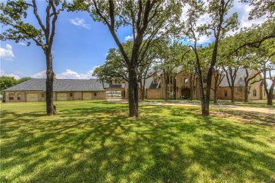 Argyle Single Family Home For Sale: 1080 E Hickory Hill Road