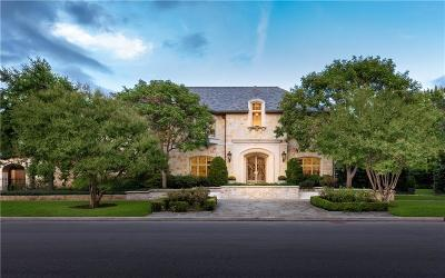 Dallas, Highland Park, University Park Single Family Home For Sale: 5800 Armstrong Parkway