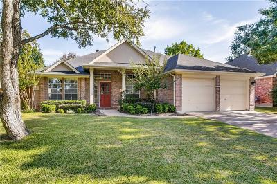 Tarrant County Single Family Home For Sale: 6715 Bluffview Drive