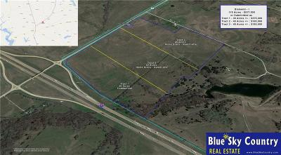 Farm & Ranch For Sale: 115 Ac I-35 E Highway
