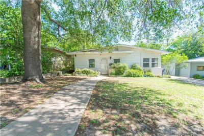 Tarrant County Single Family Home For Sale: 4412 Fletcher Avenue
