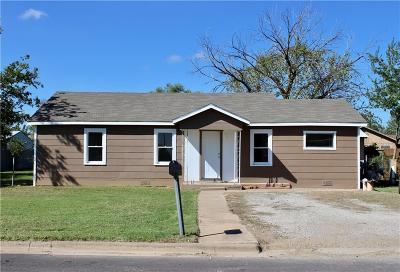 Breckenridge TX Single Family Home For Sale: $67,500
