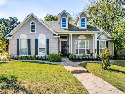 McKinney Single Family Home For Sale: 1201 N College Street