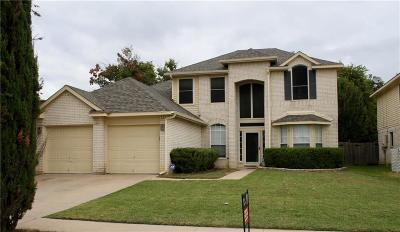 Fort Worth Single Family Home For Sale: 2544 Clovermeadow Drive