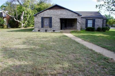 Brownwood Single Family Home For Sale: 2412 Elizabeth Drive