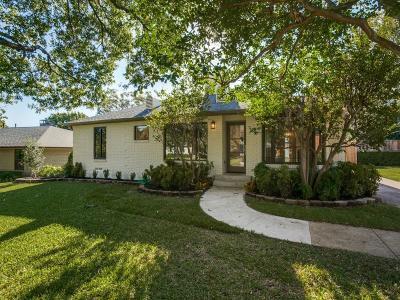 Dallas Single Family Home For Sale: 6478 Sudbury Drive