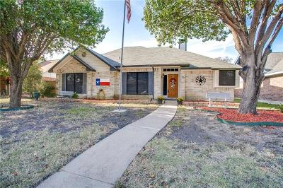 Seagoville Single Family Home For Sale: 1301 Hall Road