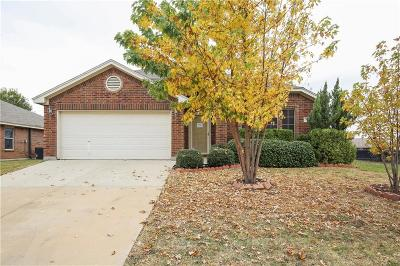 Saginaw Single Family Home Active Option Contract: 621 Mooney Drive