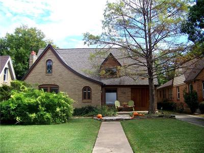 Dallas Single Family Home For Sale: 1038 N Edgefield Avenue