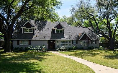 Dallas Single Family Home For Sale: 4138 Cedarbrush Drive
