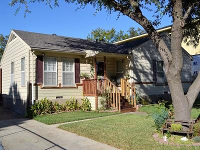 Dallas Single Family Home For Sale: 3885 Cortez Drive