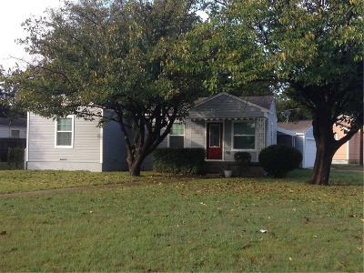 Dallas Single Family Home For Sale: 2607 S Montreal Avenue