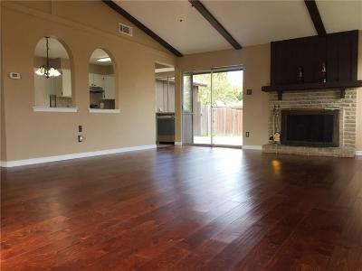 Lewisville Single Family Home Active Option Contract: 1201 Valencia Lane
