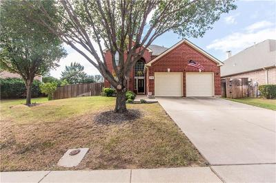 Flower Mound Single Family Home Active Option Contract: 3709 Golden Aspen Drive