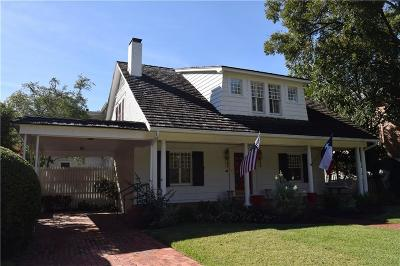Highland Park Single Family Home For Sale: 3917 Euclid Avenue