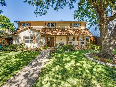 Dallas Single Family Home For Sale: 7917 La Cosa Drive