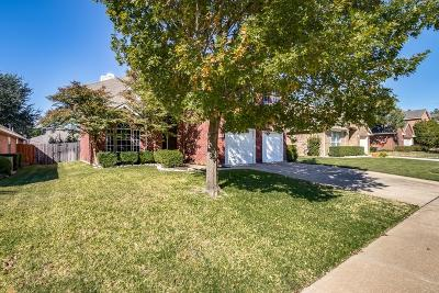 Grapevine Single Family Home Active Option Contract: 1910 Cheshire Drive