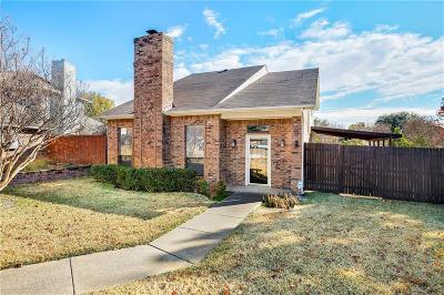 Carrollton Single Family Home Active Contingent: 1522 Knollview Lane