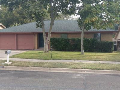 Saginaw Single Family Home Active Option Contract: 801 Lottie Lane
