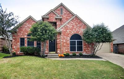 Mckinney Single Family Home Active Option Contract: 5114 Quail Ridge Drive