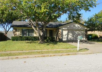 Watauga Single Family Home Active Option Contract: 6629 Valley View Drive
