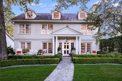 Single Family Home For Sale: 4325 Glenwood Avenue