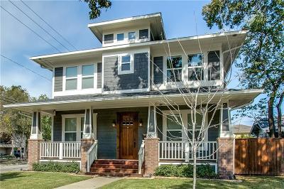 Dallas Single Family Home Active Contingent: 5501 Bonita Avenue