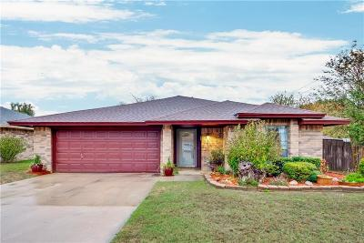 Euless Single Family Home Active Option Contract: 515 Anice Lane