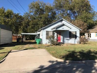 Mckinney Single Family Home Active Option Contract: 605 E Graham Street