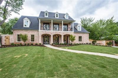 Dallas Single Family Home For Sale: 6622 Desco Drive