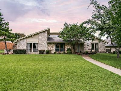 Plano Single Family Home Active Option Contract: 2717 Prairie Creek Court