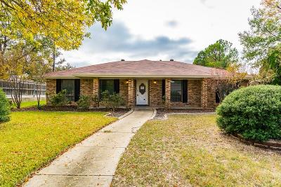 Flower Mound Single Family Home Active Option Contract: 1101 Lopo Road