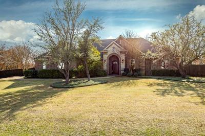 Aledo Single Family Home For Sale: 1736 Woodridge Court