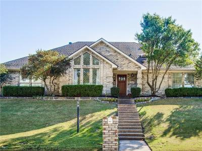 Fort Worth Single Family Home Active Option Contract: 11609 Wind Creek Court