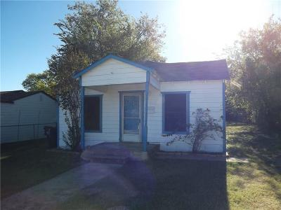 Fort Worth Single Family Home For Sale: 2707 NW 29th Street