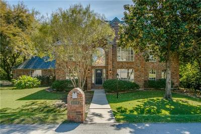 Lewisville Single Family Home For Sale: 1114 Babbling Brook Drive