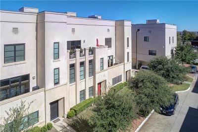 Fort Worth Townhouse Active Option Contract: 912 Magnolia Green Drive