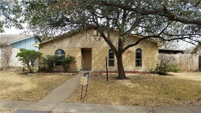 Single Family Home For Sale: 2923 Mill Trail