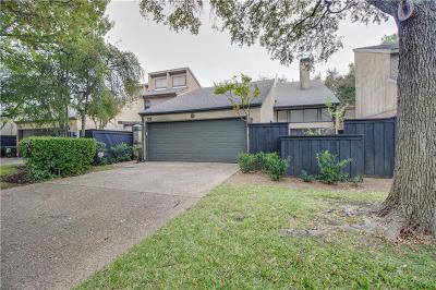 Dallas Townhouse For Sale: 9712 Baseline Drive