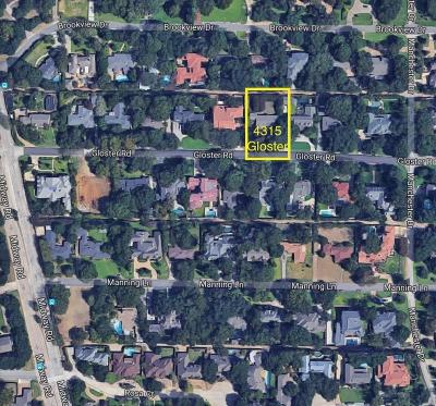 Dallas Residential Lots & Land For Sale: 4315 Gloster Road