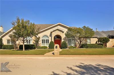 Abilene Single Family Home For Sale: 8 Mesa Ridge