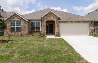 Aubrey Single Family Home For Sale: 1417 Millican Lane