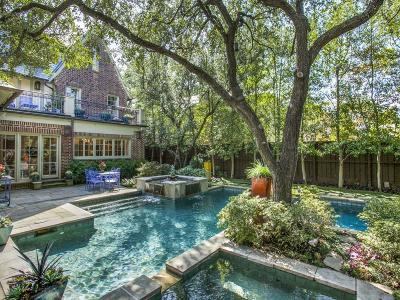 Highland Park Single Family Home For Sale: 4312 Arcady Avenue