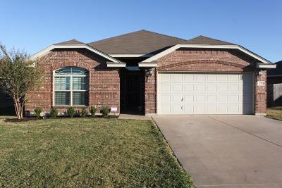 Saginaw Single Family Home Active Option Contract: 257 Creekside Drive