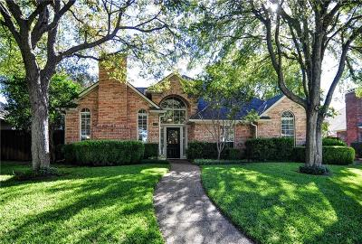 Plano Single Family Home Active Option Contract: 1408 Auburn Place
