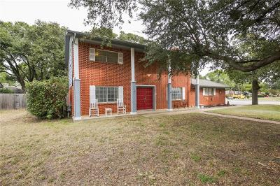 Bedford, Euless, Hurst Single Family Home Active Option Contract: 2025 Chattanooga Drive