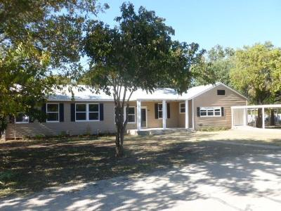 Brownwood Single Family Home For Sale: 1109 Phillips Drive