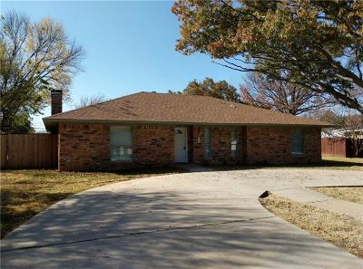 Highland Village Single Family Home For Sale: 213 Oak Street