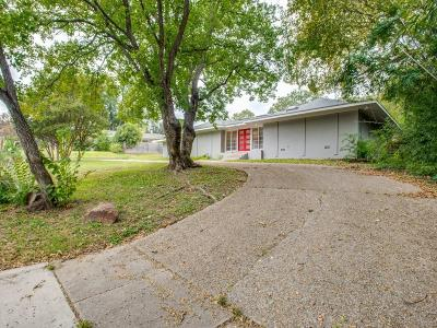Fort Worth Single Family Home Active Option Contract: 3612 Clayton Road E