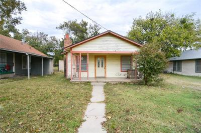 Stephenville TX Single Family Home For Sale: $67,000